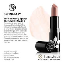 <b>Rouge Bunny</b> Rouge Shimmering Luxe Balm Sip of Pink (<b>061</b>) on ...