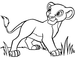 Small Picture Lion Cartoon Coloring Page anfukco