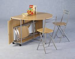 Kitchen Tables With Storage Small Drop Leaf Table With Chair Storage Home Chairs Design Ideas