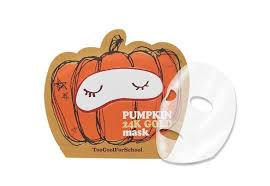 Details about Too Cool For School Pumpkin <b>24K Gold Facial Sheet</b> ...