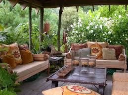 image of comfortable outdoor furniture decoration backyard furniture ideas