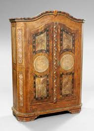 n italian grained and faux mabre armoire antique english country armoire circa 1830s