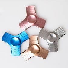 2017 Newest Fidget Hand Spinner <b>Fingertips</b> Spiral Aluminium <b>Alloy</b> ...