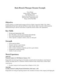 bank manager resume com bank manager resume to inspire you how to create a good resume 15
