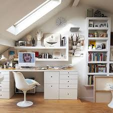 ad attic living space design 09 attic office ideas