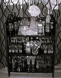 diy home mini bar black mini bar
