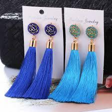 <b>HOCOLE</b> Korean <b>Fashion</b> Wood Round Earrings Hollow Mesh Za ...