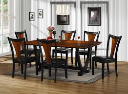 Tall Dining Room Sets Alluring Black Wooden Convertible Dining Sets Bjursta Brje Table
