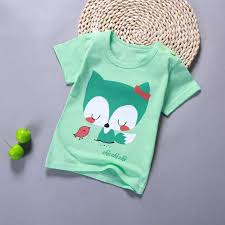 New <b>2019 Children</b> T Shirts Cartoon Print <b>Kids</b> Baby <b>Boy</b> Tops <b>Short</b> ...