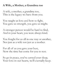 Quotes For Mothers Funeral. QuotesGram via Relatably.com
