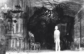 A Monster Calls - images by Jim Kay