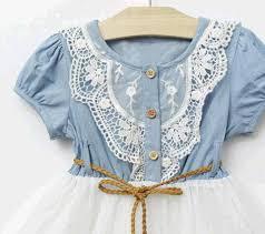 2019 Summer Baby Dress <b>Denim</b> Girls Dresses <b>2018 New Kids</b> ...