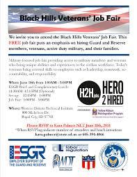 seeking employers for black hills veterans job fair  icommonngsd smf egreventsfy14black hills mvf job fairveterans job fair flyer 2