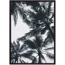 <b>Постер в рамке Дом</b> Корлеоне Пальмовые кроны 40x60 см ...