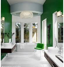popular cool bathroom color: green amp white bathroom paint colors ideas image by laura britt design at houzzcom great bathrooms pinterest green paint colors and colors