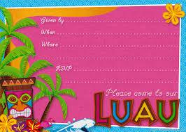 luau birthday invitations templates luau birthday invitations printable