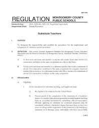 resume cover letter for substitute teachers cipanewsletter cover letter sample of resume for teachers sample of resume for