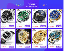 <b>TEVISE</b> Automatic Mechanical Watches Diver Sport <b>Luxury Brand</b> ...