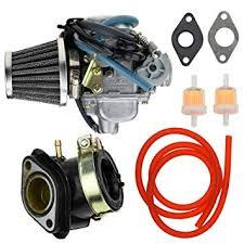 24mm Carburetor Carb 42mm Air Filter Intake ... - Amazon.com