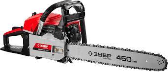 <b>Пила</b> цепная бензиновая <b>ЗУБР ПБЦ</b>-<b>М560</b> 45П