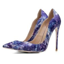 COCOAFOAL Stiletto <b>Woman</b> Purple Shoes Plus <b>Size 34 - 43</b> Sexy ...