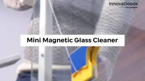 InnovaGoods Home Houseware Mini <b>Magnetic Glass Cleaner</b> ...