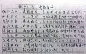 chinese teen    s essay on justice   business insidersome
