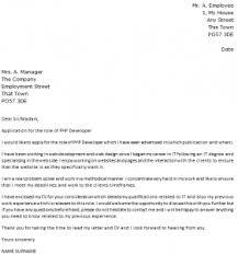php developer cover letter example   icover org uk