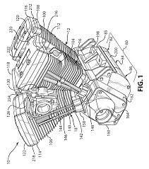 patent us v quad engine and method of constructing same patent drawing