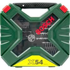 Набор оснастки <b>54</b> шт. <b>Bosch X</b>-<b>Line</b> 2607010610 в Санкт ...