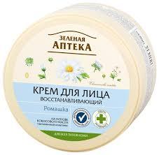Зелёная Аптека <b>Крем для лица Восстанавливающий</b>, ромашка ...