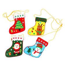 DIY тканевый <b>Рождественский носок</b> орнамент детский сад ...