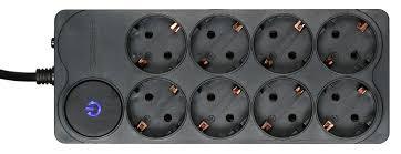 <b>Сетевой фильтр Ippon BK-238</b> 8 розеток, 3 м, 588044, черный ...