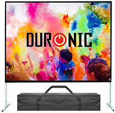 """Duronic Fast <b>Fold PS100 Portable 100</b>"""" wh Front: Amazon.co.uk ..."""
