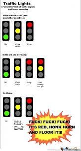 Traffic Lights by ganztarr - Meme Center via Relatably.com