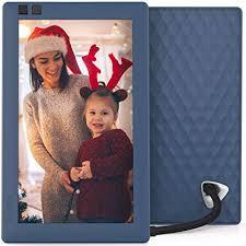 Nixplay Seed 7 inch WiFi Digital Photo Frame - Blue ... - Amazon.com
