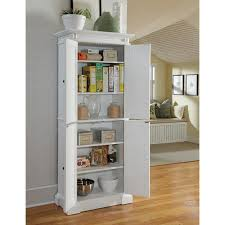 white kitchen pantry storage cabinet