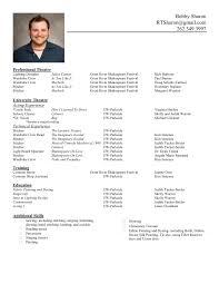 Resume Resume Sample Form
