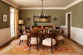 room dining color schemes