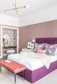 retreat dh master bedroom beaded headboard gold