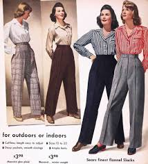 Image result for 1940s fashion women