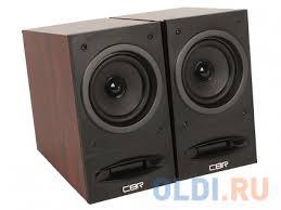 <b>Колонки CBR CMS 590</b>, 2.0 Wooden, 2x5 W, USB — купить по ...