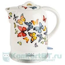 Купить <b>Чайник DELTA DL-1233A</b> Бабочки в г. Москва. Цена ...