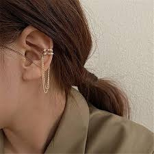 <b>S925 Silver Needle</b> Ear Cuff Clip Earrings – Ella18.com