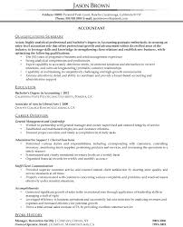 entry level accountant resume resume template entry level accounting resume skills examples