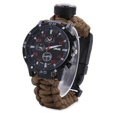 Dropshipping for <b>EMAK Outdoor Survival</b> Watch Bracelet with ...