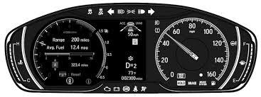 What Do Honda Dashboard Warning Lights Mean?