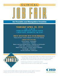 clinical job fair join the leading provider in western mass clinical job fair flyer 28 2016