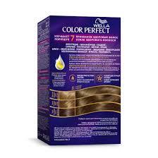 Wella Color Perfect <b>стойкая крем-краска</b>, 7/0 Темно-русый | Wella