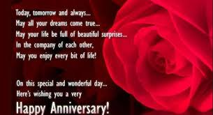 Happy wedding anniversary wishes for husband - Romantic Wedding ... via Relatably.com